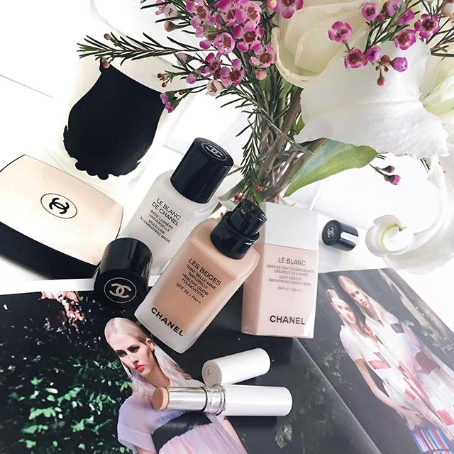 Chanel Les Beiges Foundation & Le Blanc Light Creator Whitening Concealer