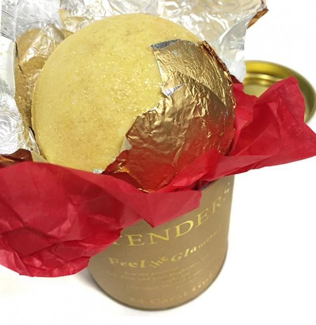 Stenders 24 carat gold bath ball