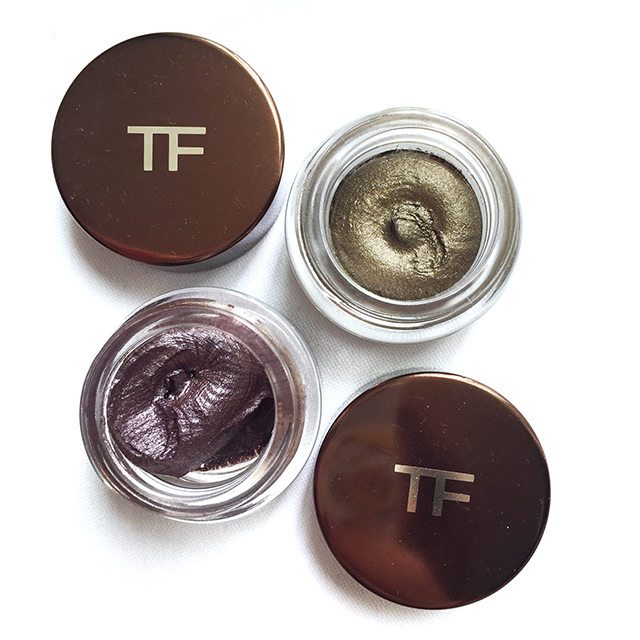 Tom Ford Cream Color for Eyes Burnished Copper & Midnight Violet