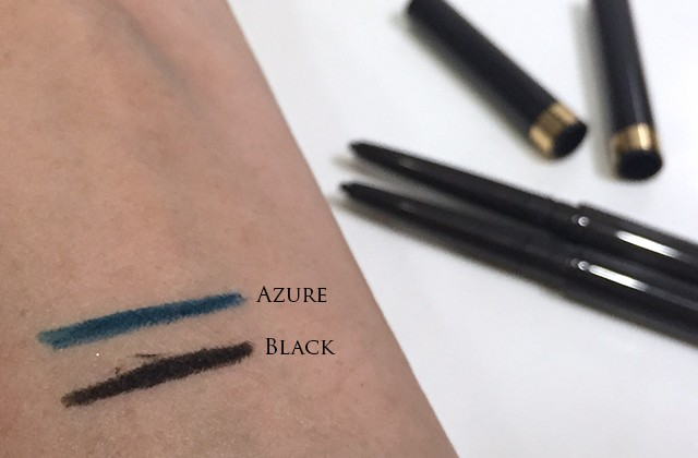 Tom Ford Eye Definition Eyeliner Black & Azure swatches