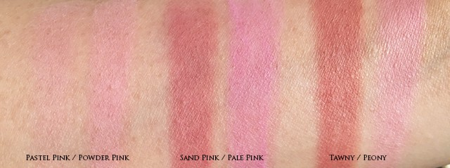 Bobbi Brown Malibu Nudes Blush Duos swatches