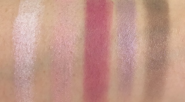 Dior 5 Couleurs Eyeshadow Palette 956 Violet Garden swatches