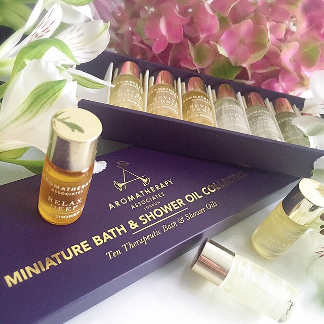 Aromatherapy Associates Miniature Bath Shower Oil Collection