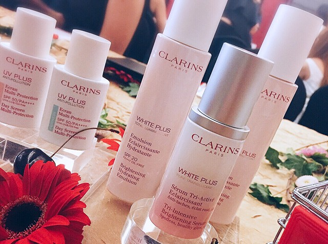 Clarins White Plus collection
