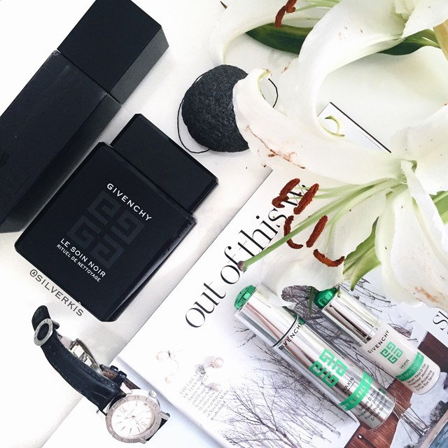 Givenchy Le Soin Noir cleanser toner & Vaxin City Skin Solution