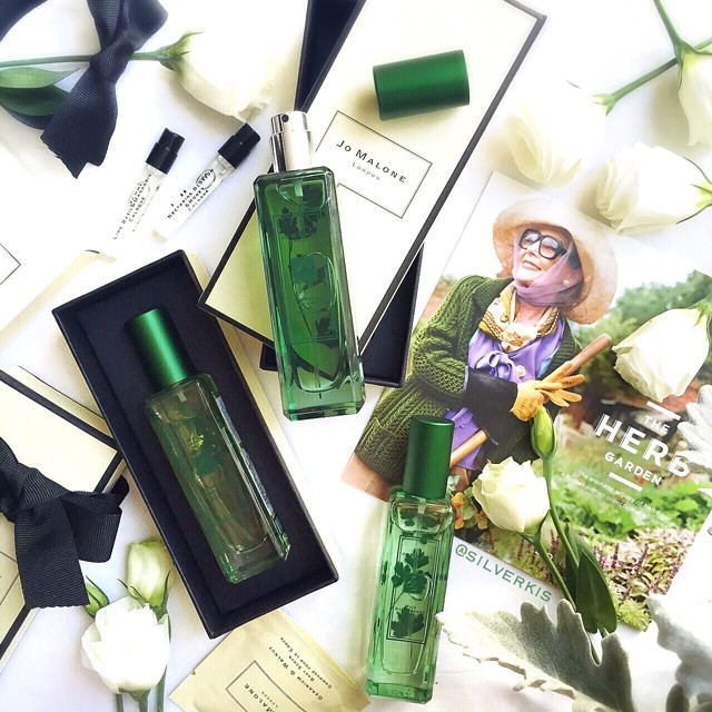 Jo Malone The Herb Garden Collection for Spring 2016