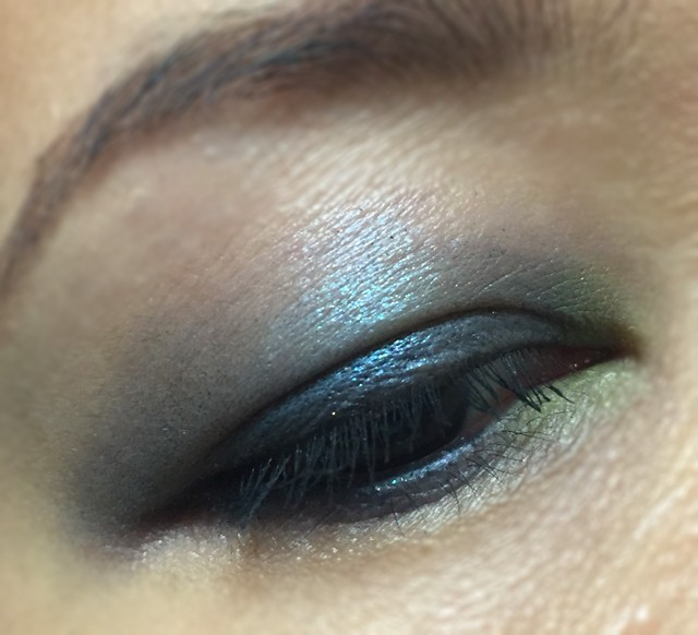 SUQQU Blend Color Eyeshadow EX30 EOTD 1