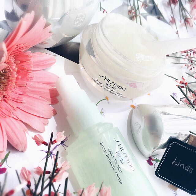 Shiseido Ibuki Beauty Sleeping Mask & Quick Fix Mist