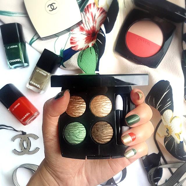 Chanel Summer 2016 manicure