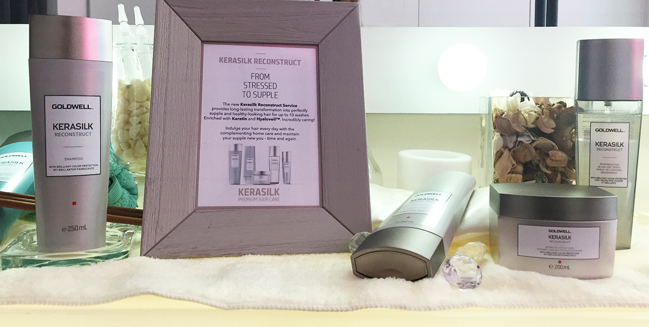 Goldwell Kerasilk Reconstruct home care products
