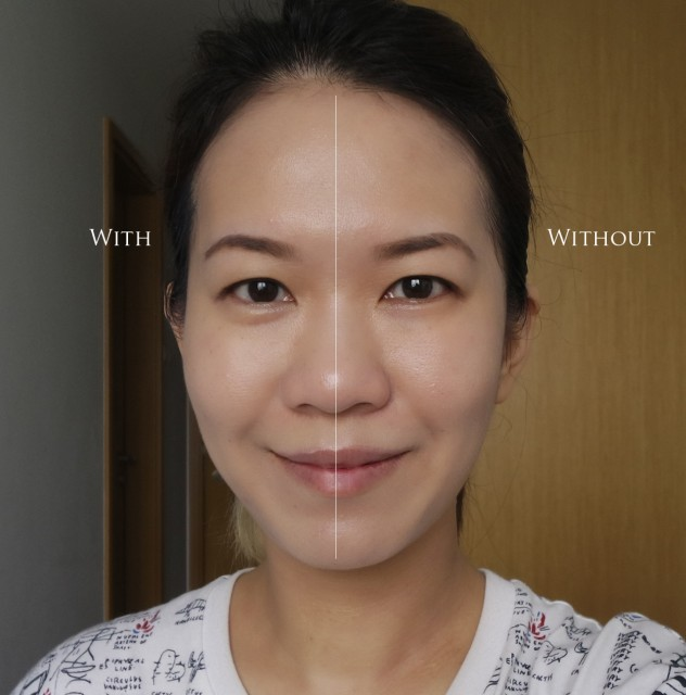 Moonshot Microfit GD cushion before after comparison