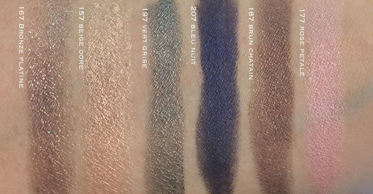 Chanel Eyes Speak Volumes Stylo Eyeshadow swatches