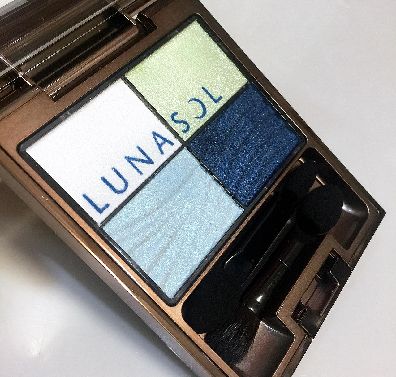 Lunasol Clear Colorful Eyes EX01 Ocean Lagoon from Summer 2016