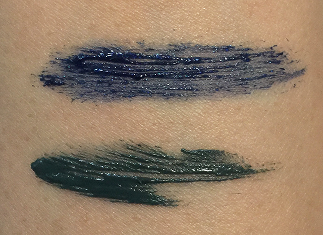 Lunasol Double Coloring Mascara EX01 swatches
