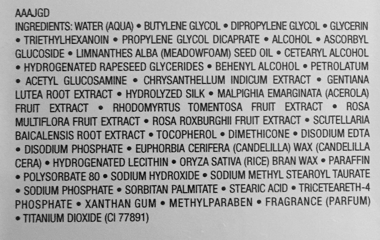 Albion Exage Bright Dew Cream ingredients