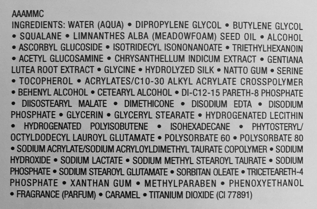 Albion Exage White Pure White Milk II ingredients