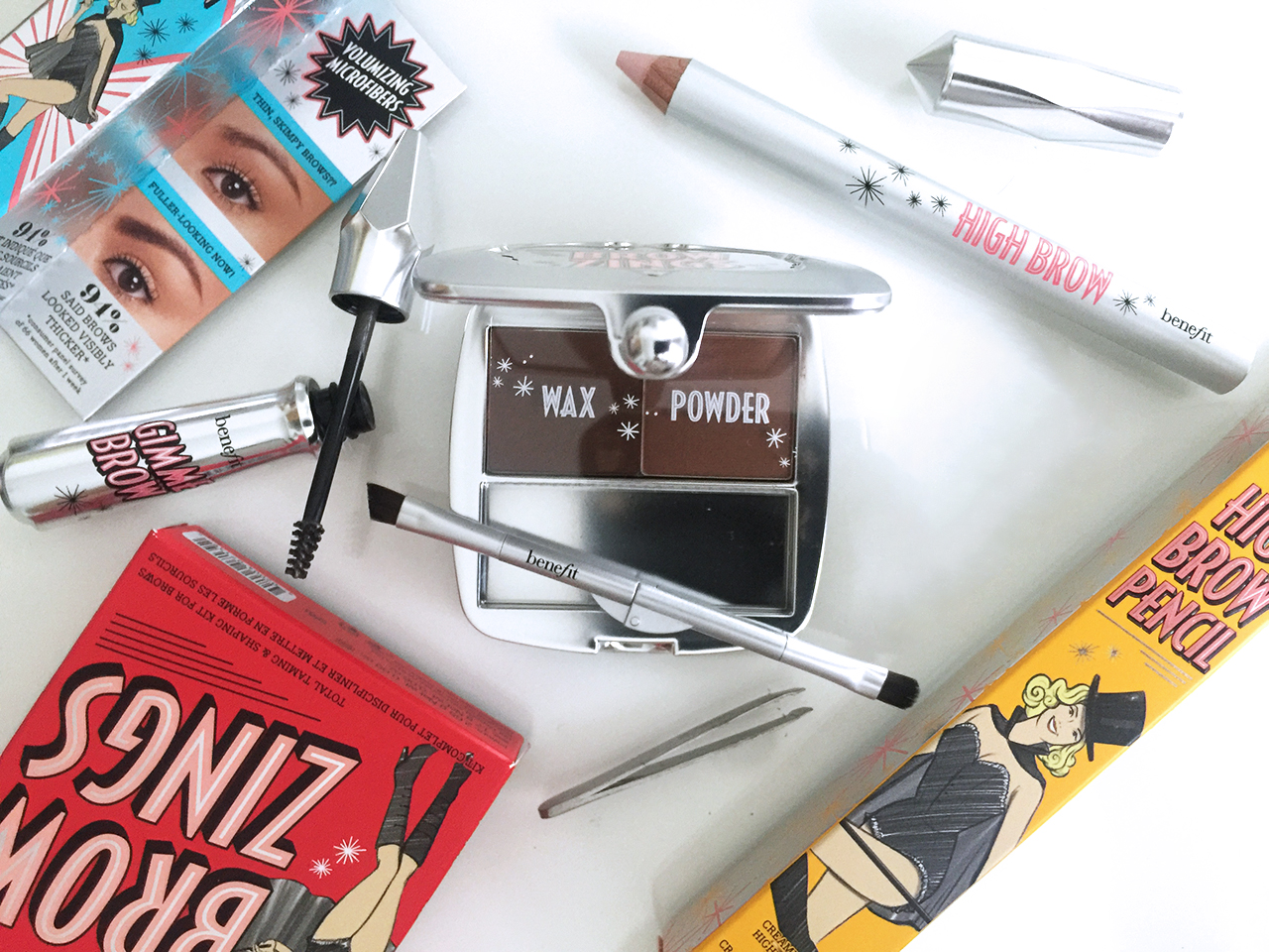 Benefit Brow Collection 2016 - relaunch