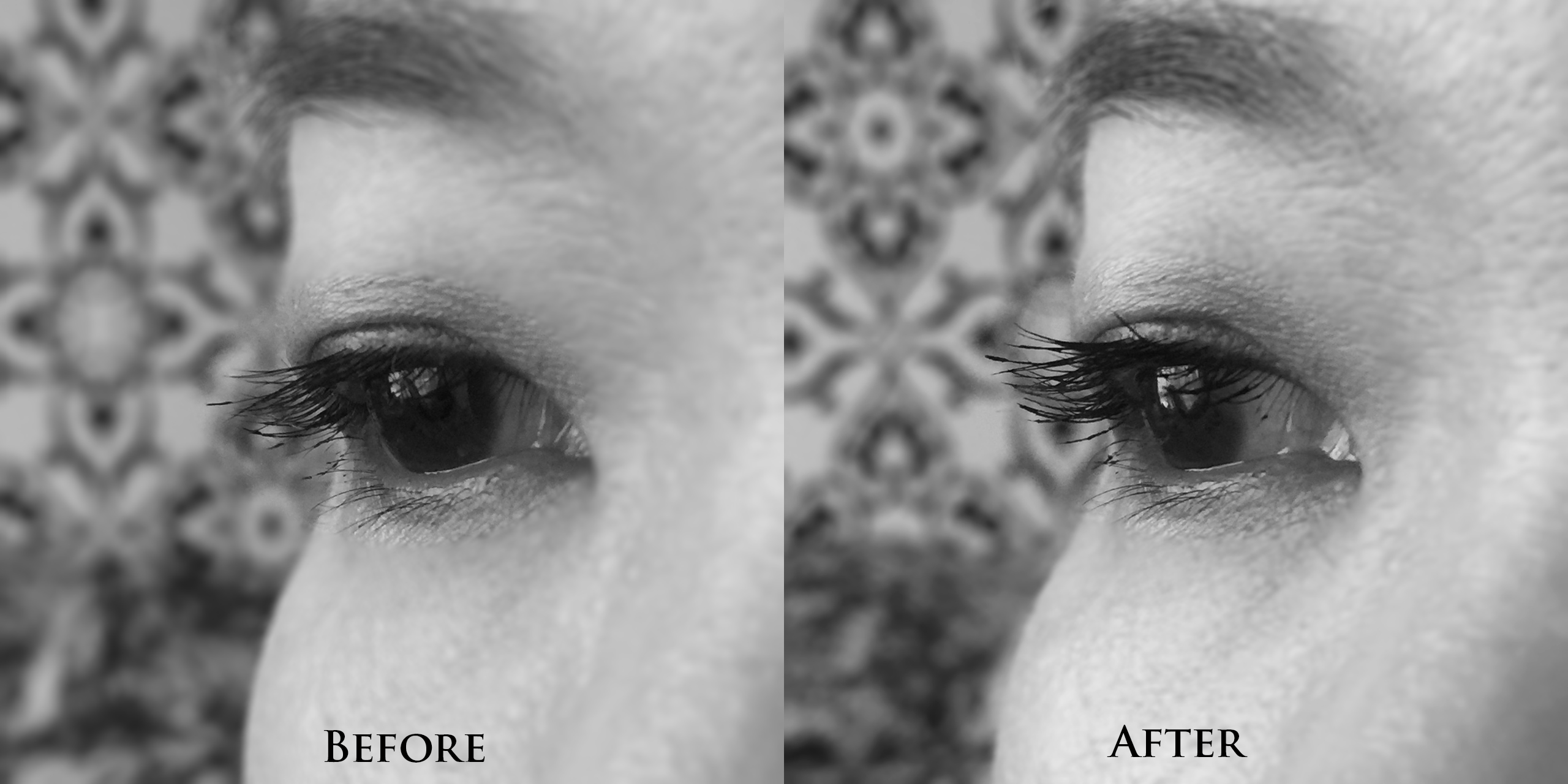 Givenchy Noir Couture Volume Waterproof Mascara effects