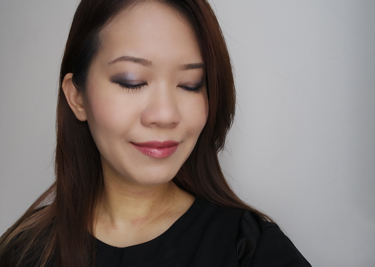 Tom Ford Starry Night Eye Color Quad Makeup look