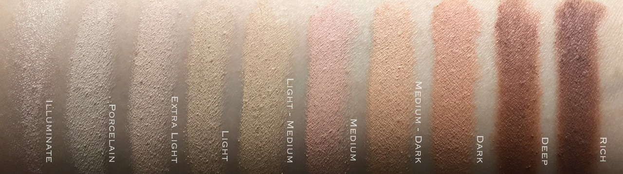 Bobbi Brown Retouching Face Pencil swatches