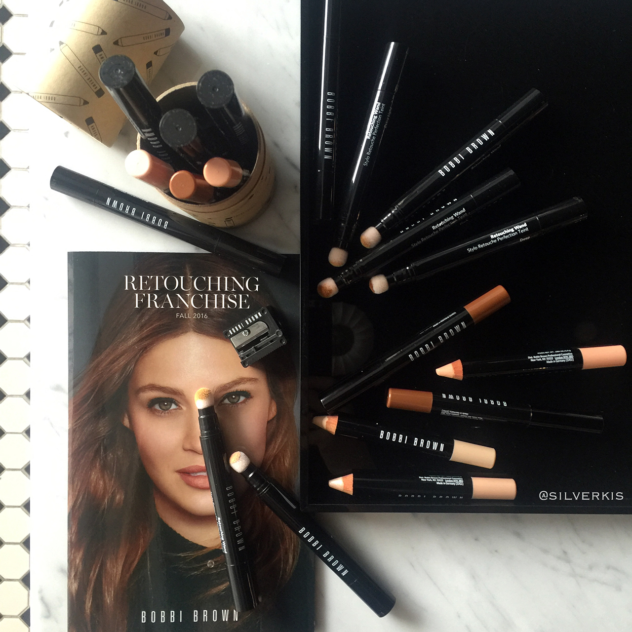 Bobbi Brown Retouching Face Pencil and Retouching Wand