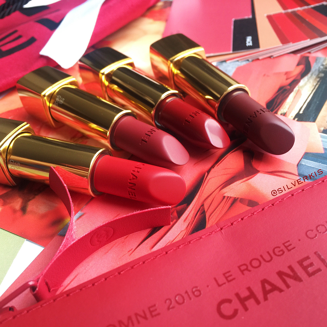 Chanel Le Rouge Collection lips