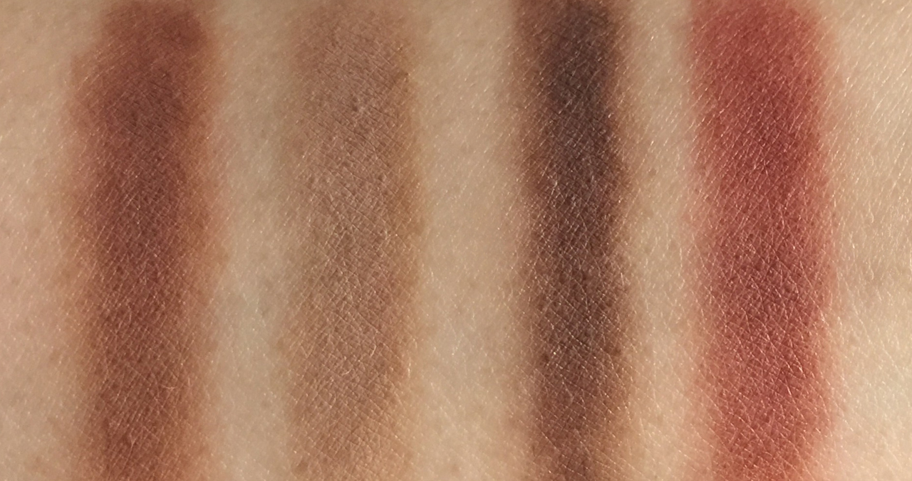 Chanel Les 4 Ombres Candour et Experience swatches