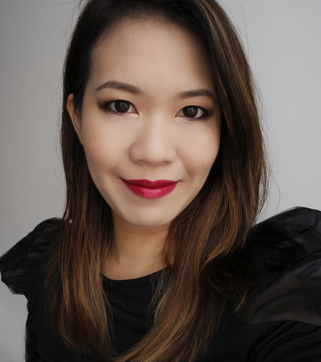Chanel Rouge Allure Ink 150 Luxuriant makeup look