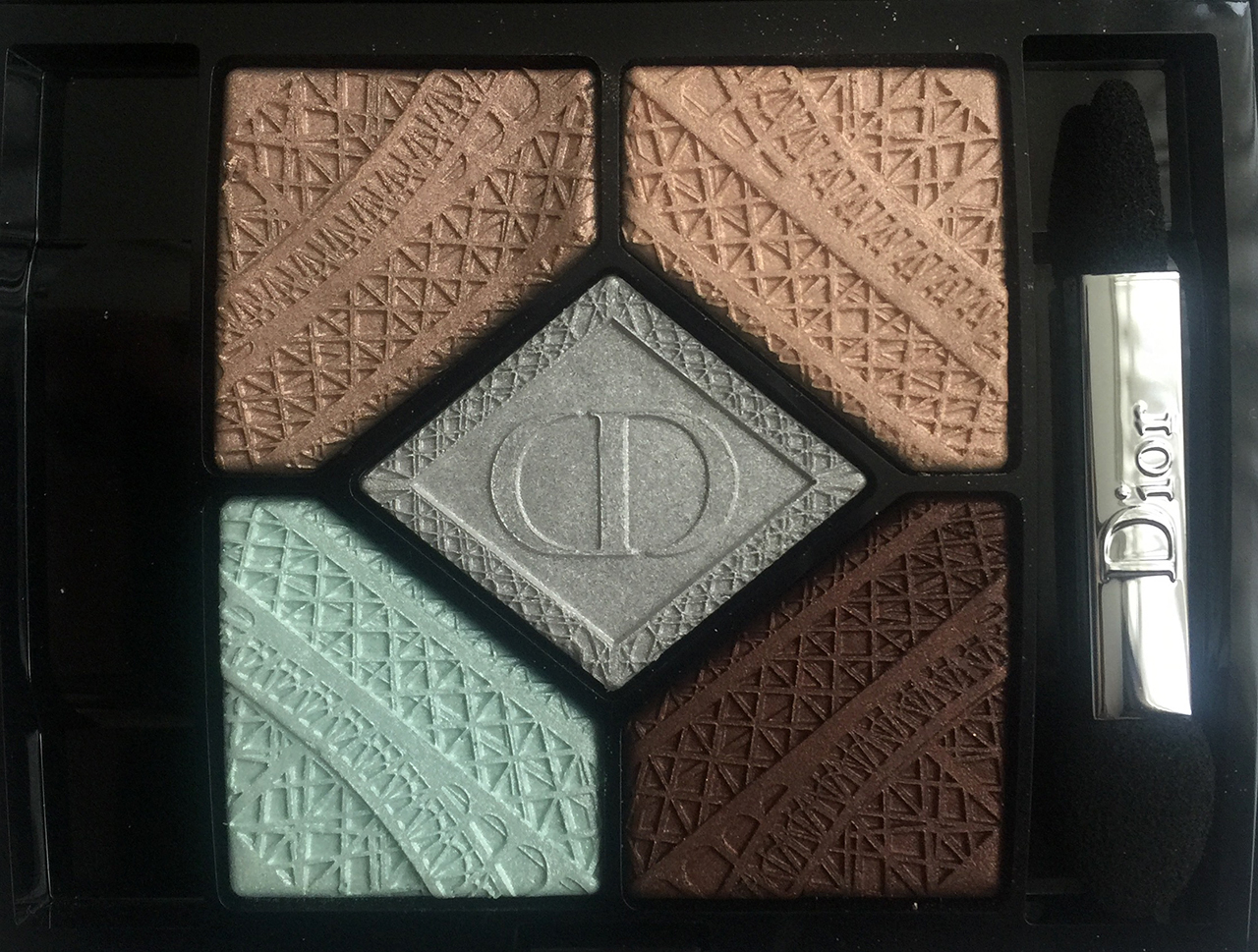 Dior Parisian Sky 5 Couleurs Palette from Fall 2016 Skyline Collection