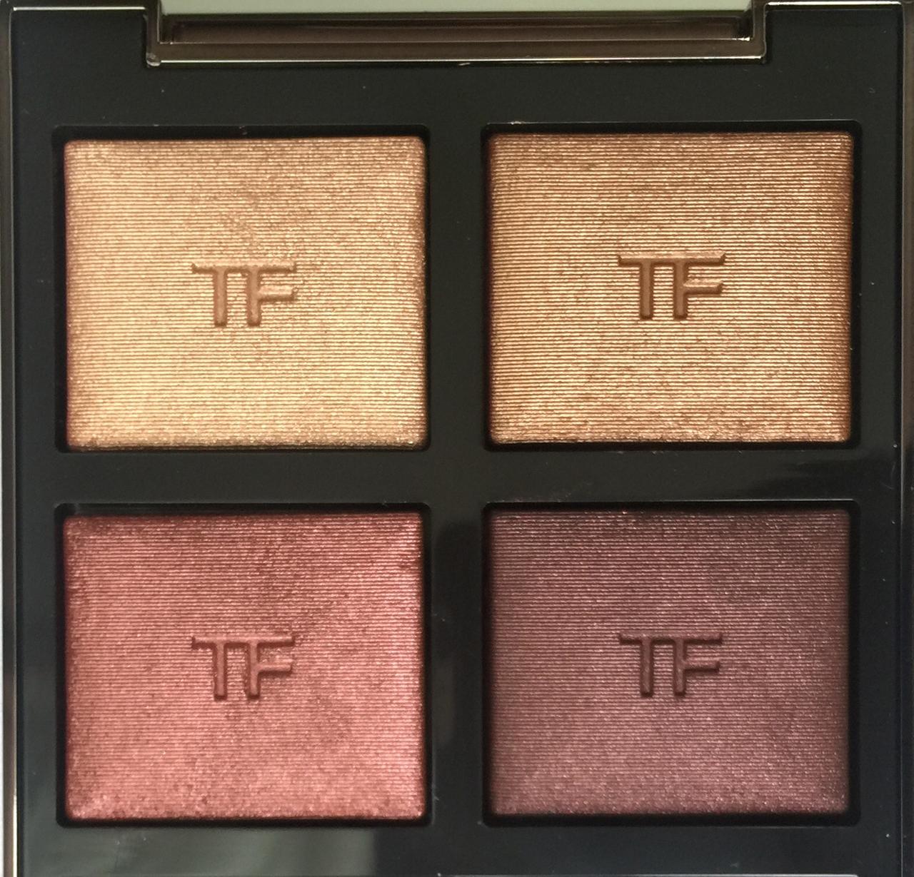 Tom Ford Honeymoon Eye Color Quad closeup