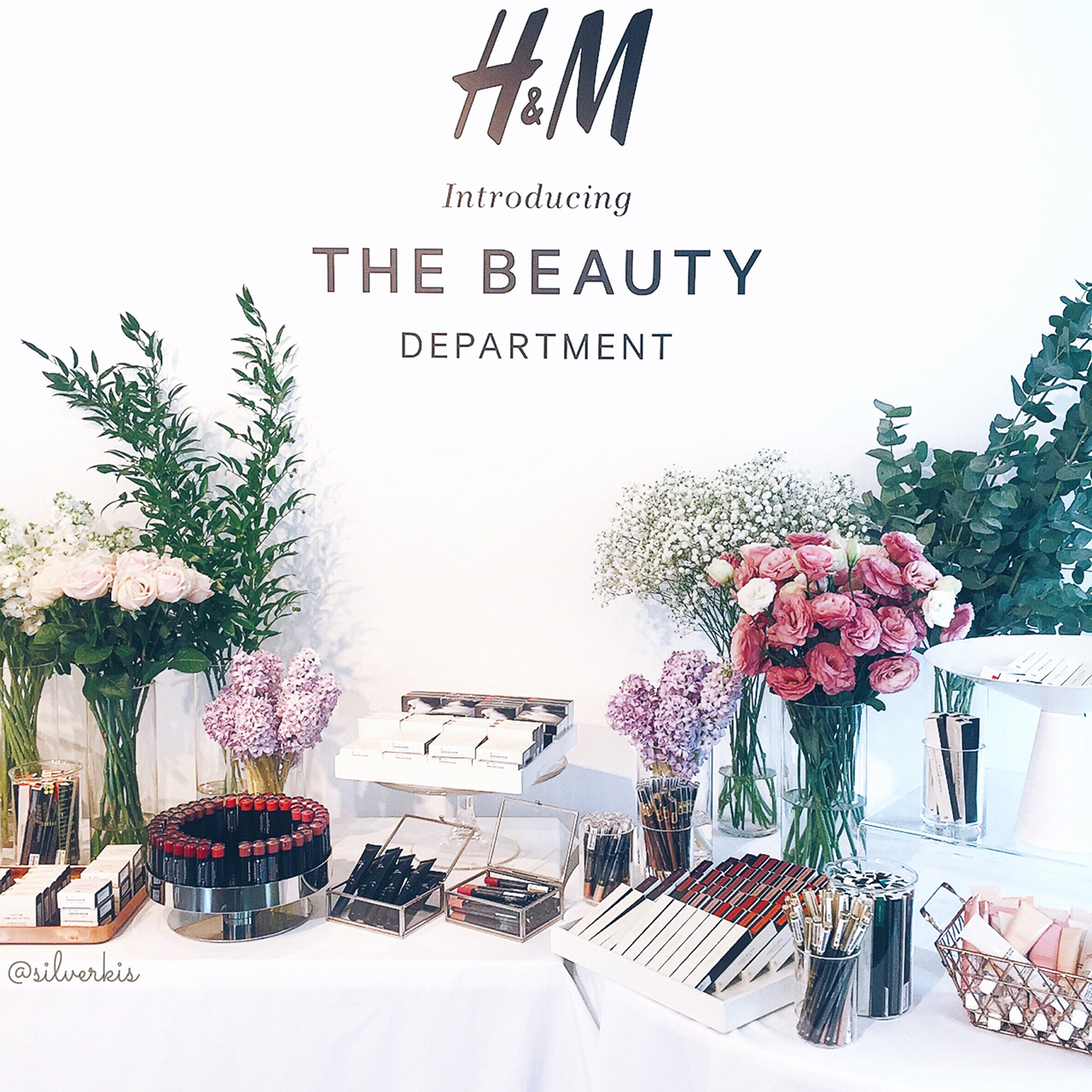H&M Beauty Department in Singapore