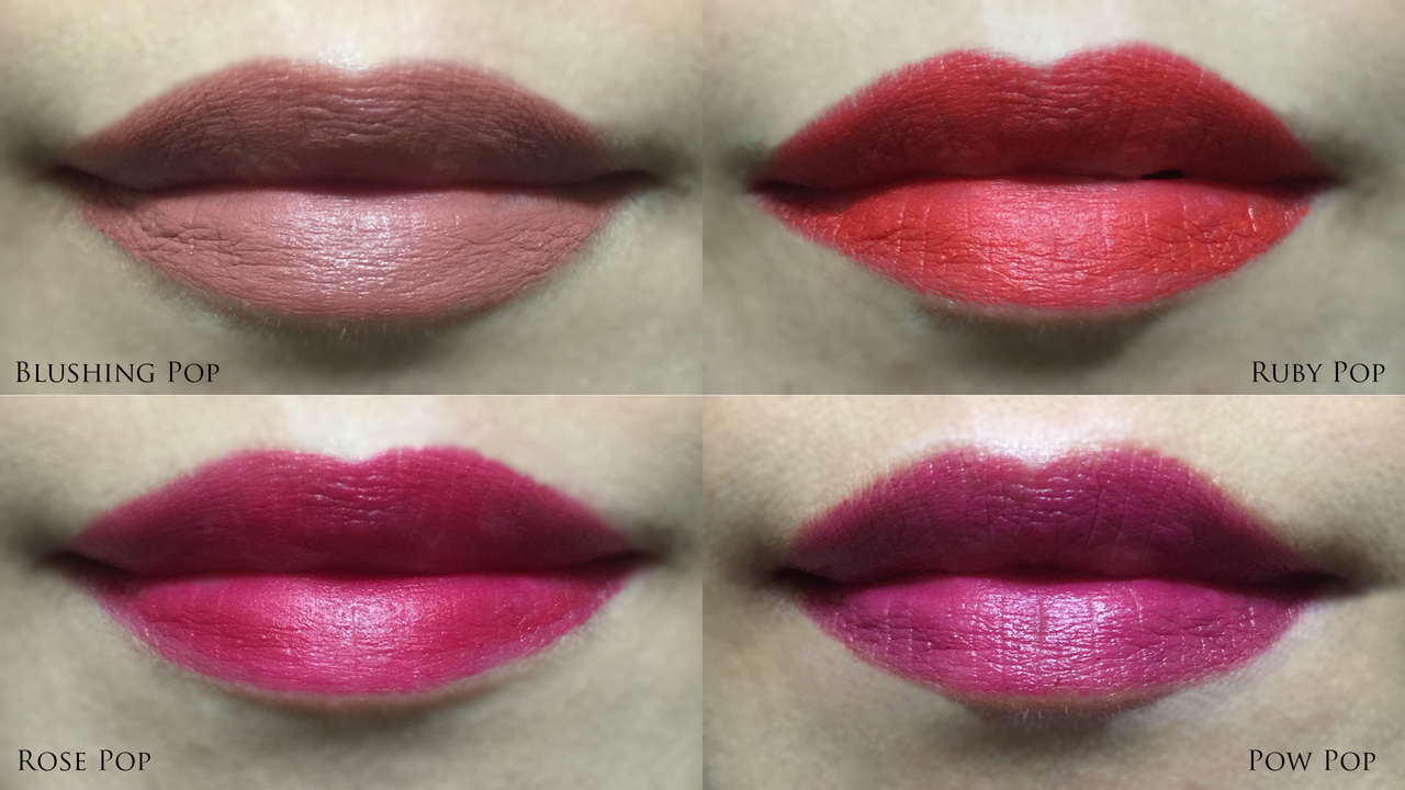 Clinique Pop Matte Matte Lip Colour + Primer lip swatches