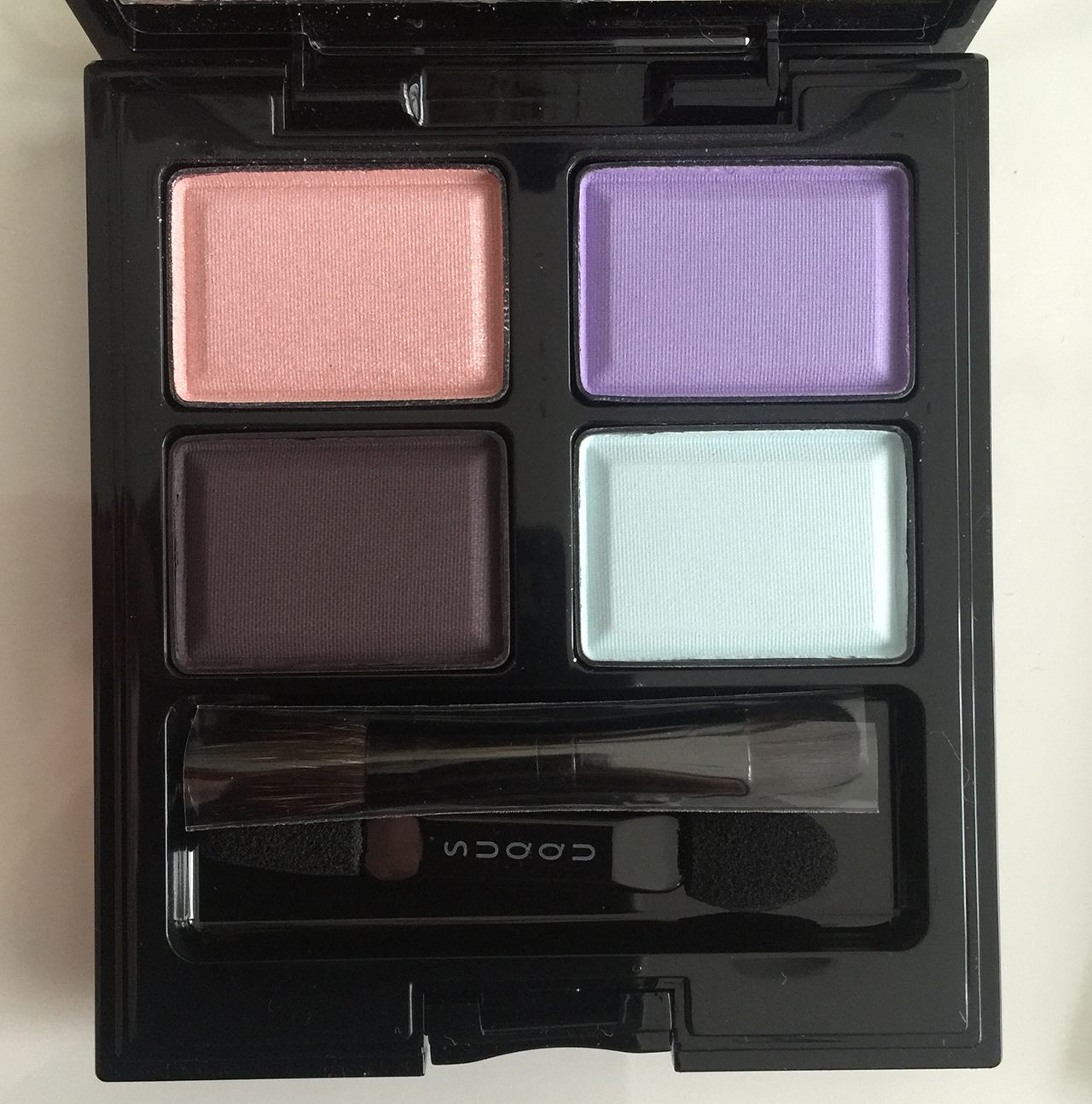 suqqu blend colour eyeshadow ex-36 fuyusumire for holiday 2016