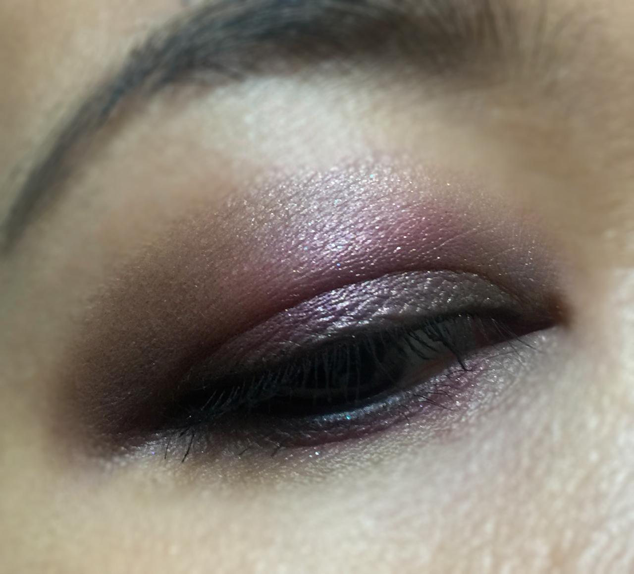 suqqu blend colour eyeshadow ex-35 yuki tsubaki EOTD
