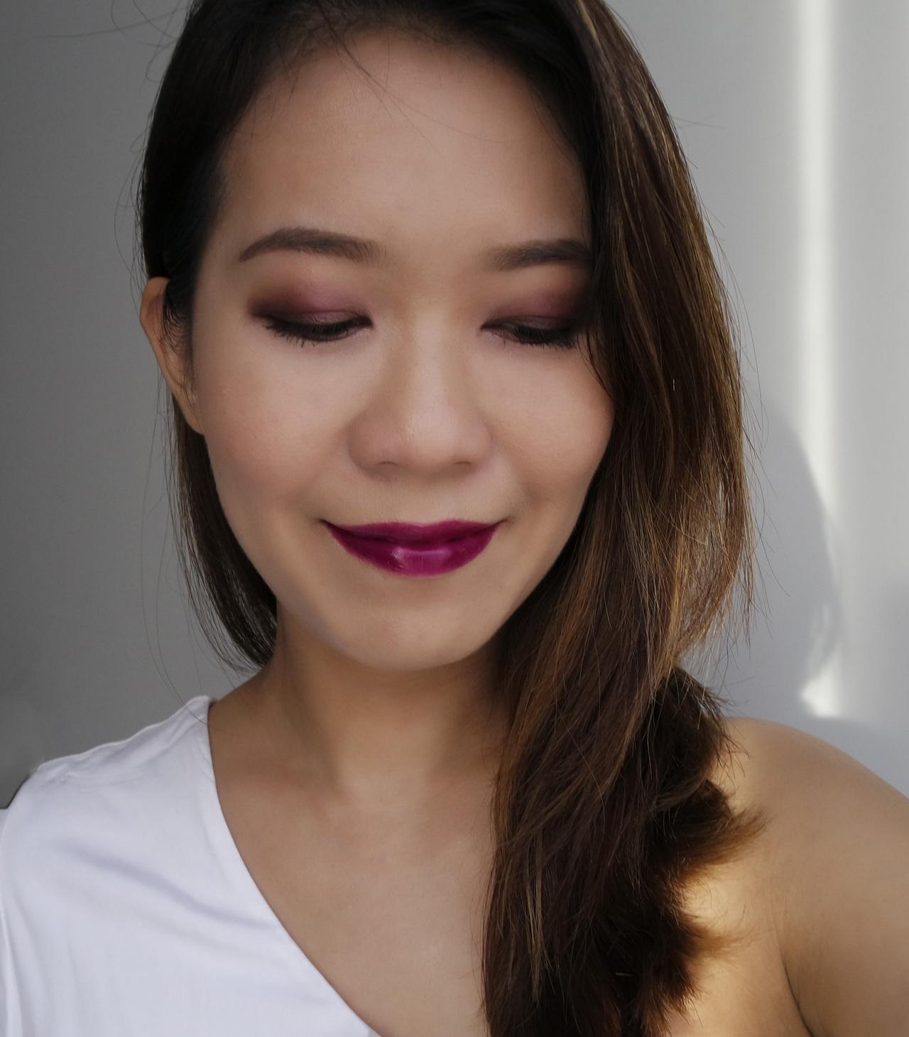 suqqu blend colour eyeshadow ex-35 yuki tsubaki makeup look