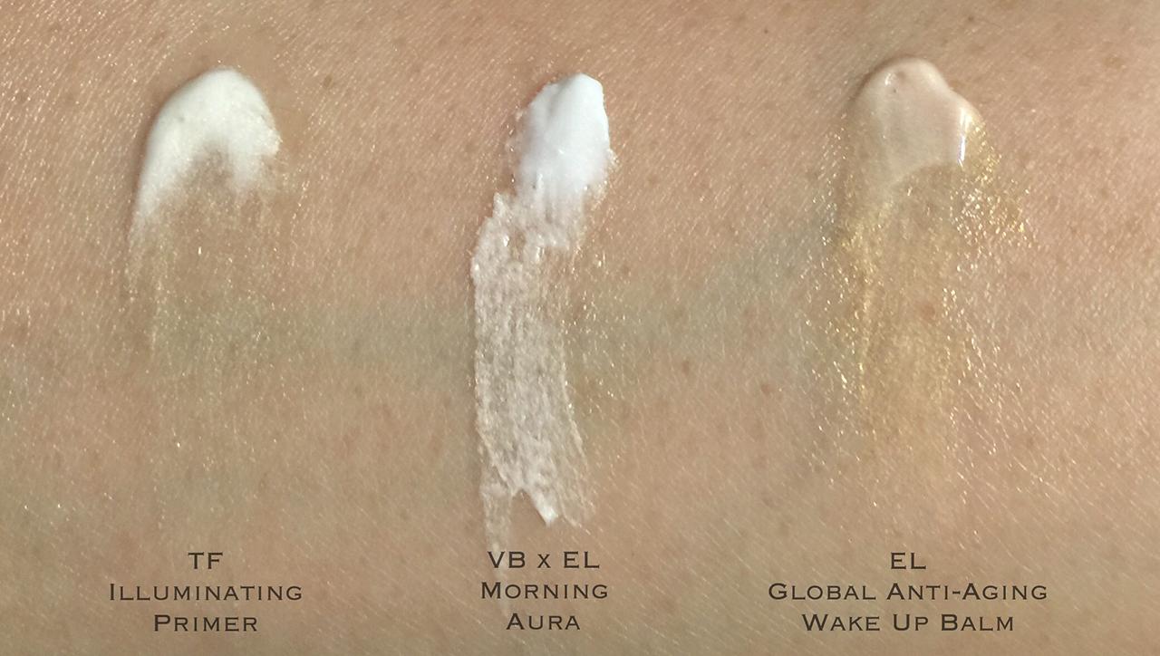 victoria-beckham-x-estee-lauder-morning-aura-swatch-comparison