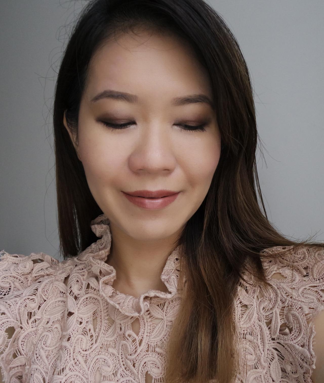 Bobbi Brown Wine & Chocolate Collection makeup look