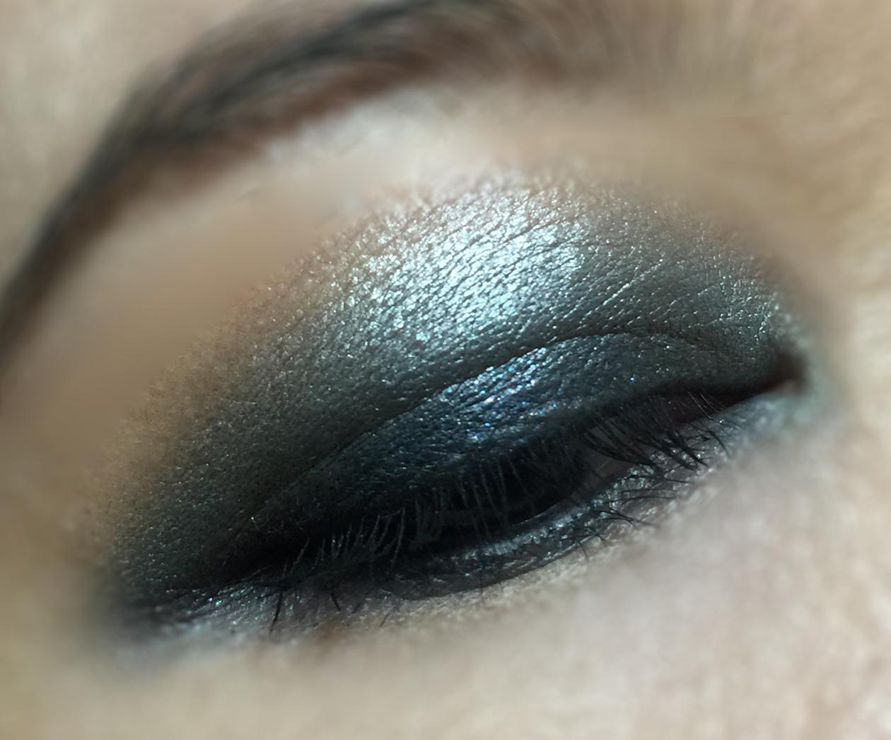chanel architectonic eyeshadow palette eye makeup look