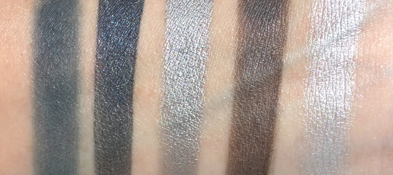 chanel architectonic eyeshadow palette swatches