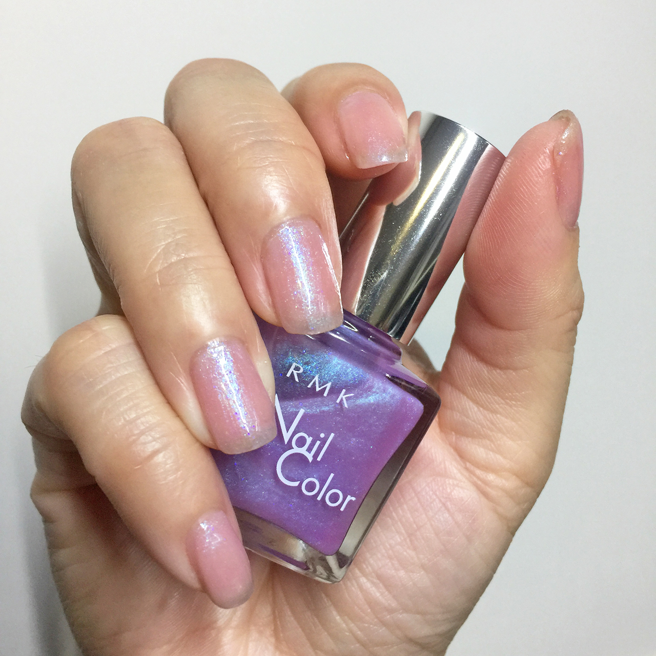 RMK Christmas Kit 2016 nail polish swatch
