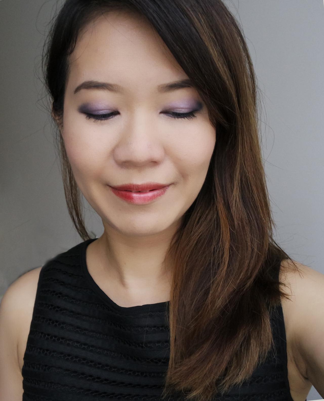 Takashi Murakami Shu Uemura Cosmicool Eye and Cheek Palette makeup look