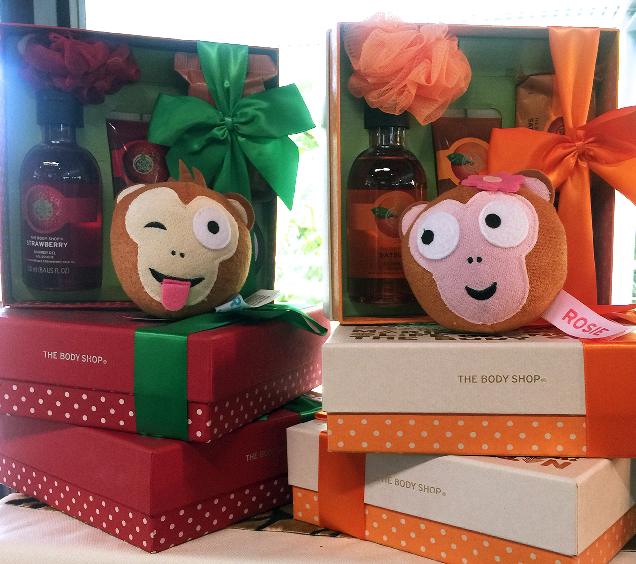 The Body Shop Reggie Sponge for Christmas 2016