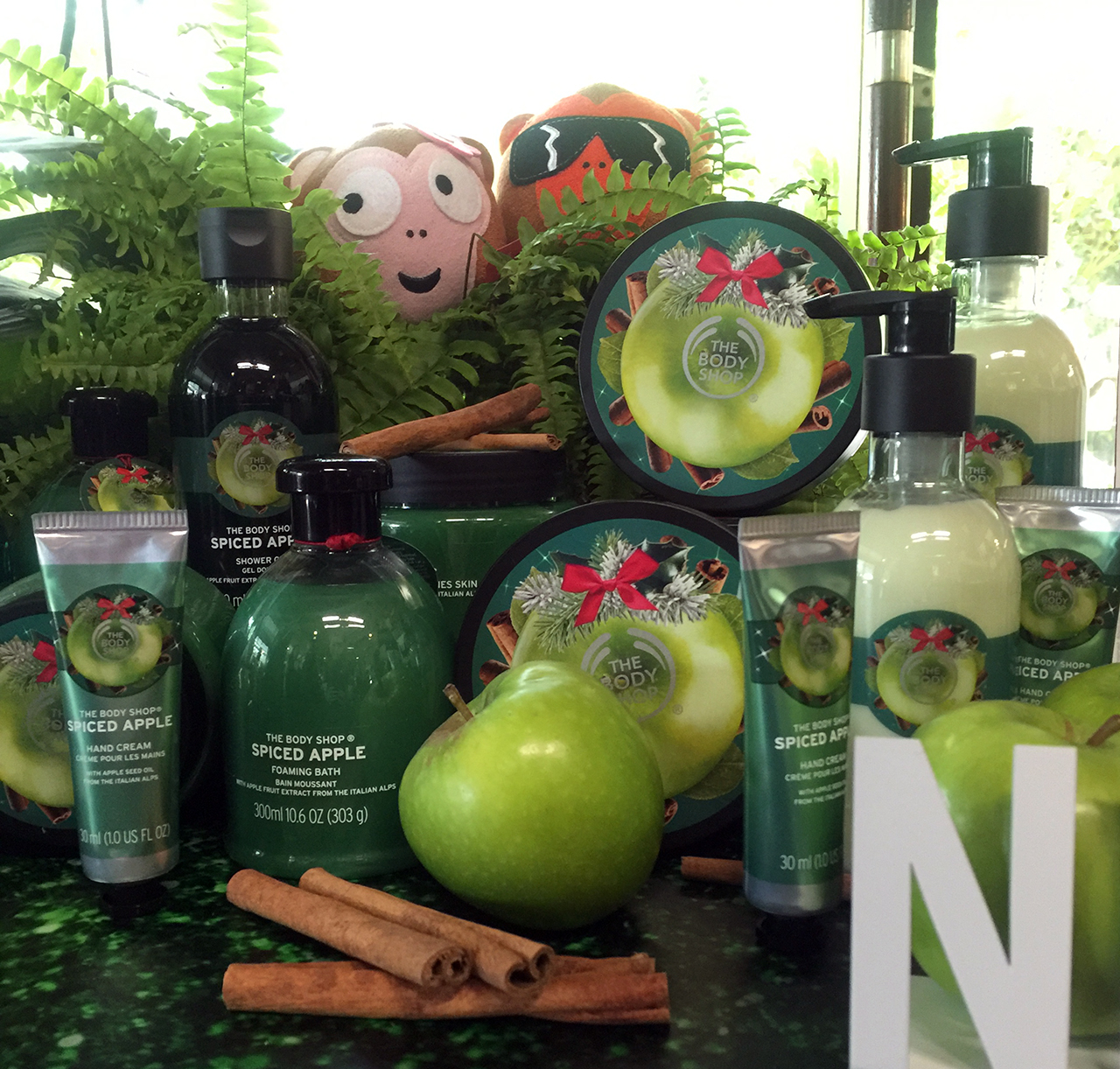 The Body Shop Spiced Apple Collection for Christmas 2016