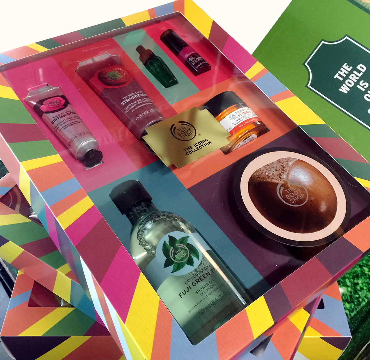 The Body Shop The Iconic Collection for Christmas 2016