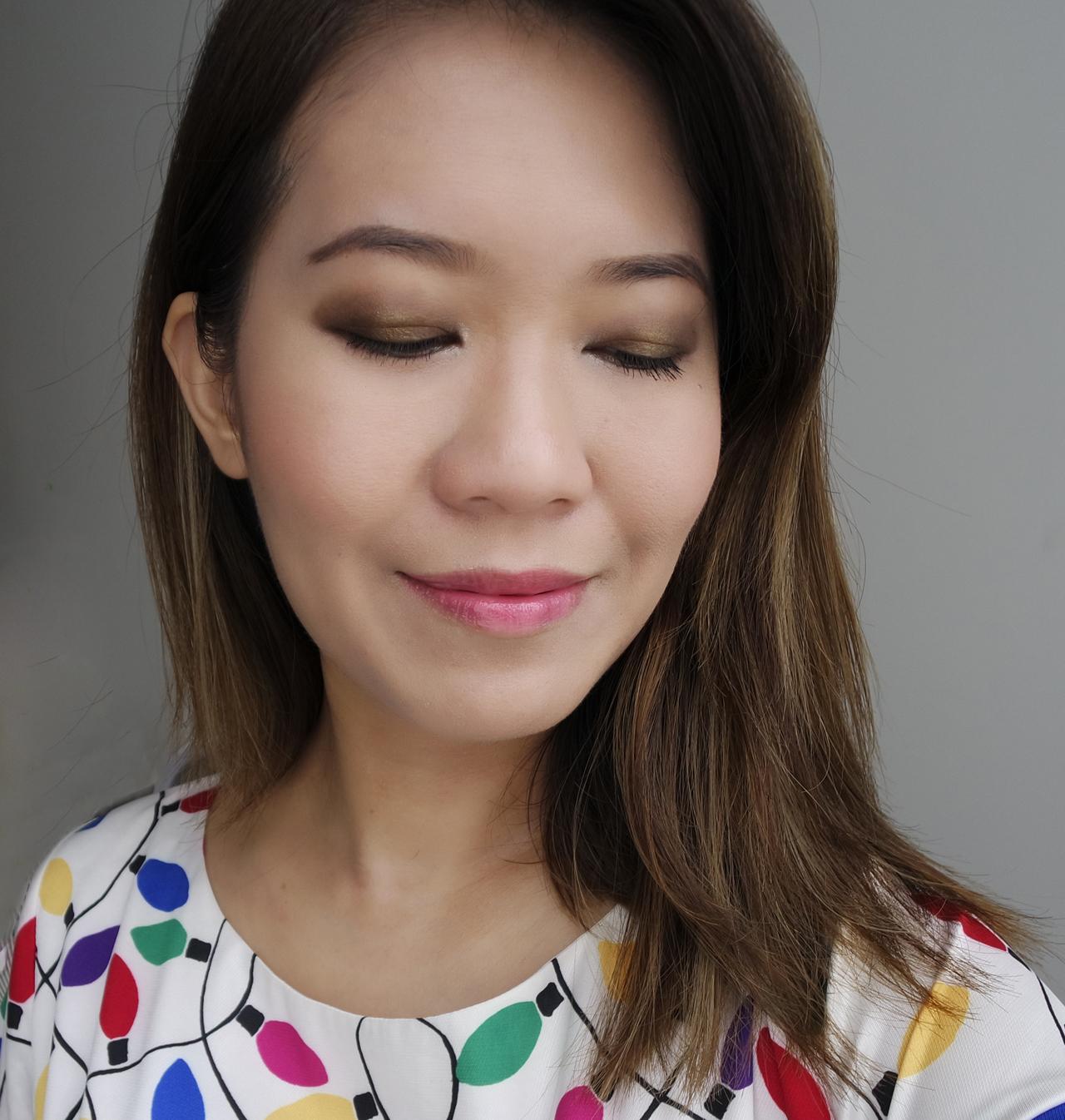 Chanel Les 4 Ombres Code Elegants full makeup look