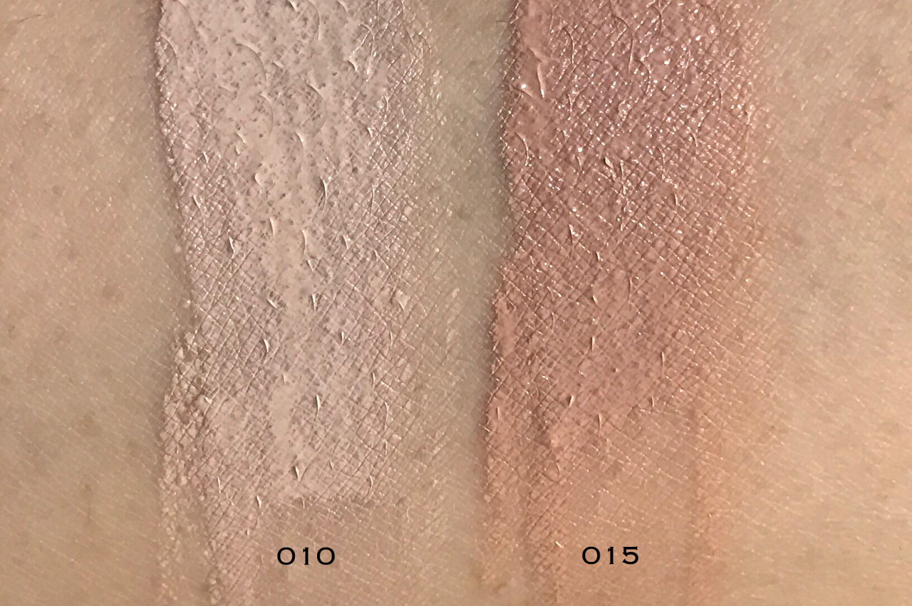 Lancome Teint Idole Ultra Cushion swatches