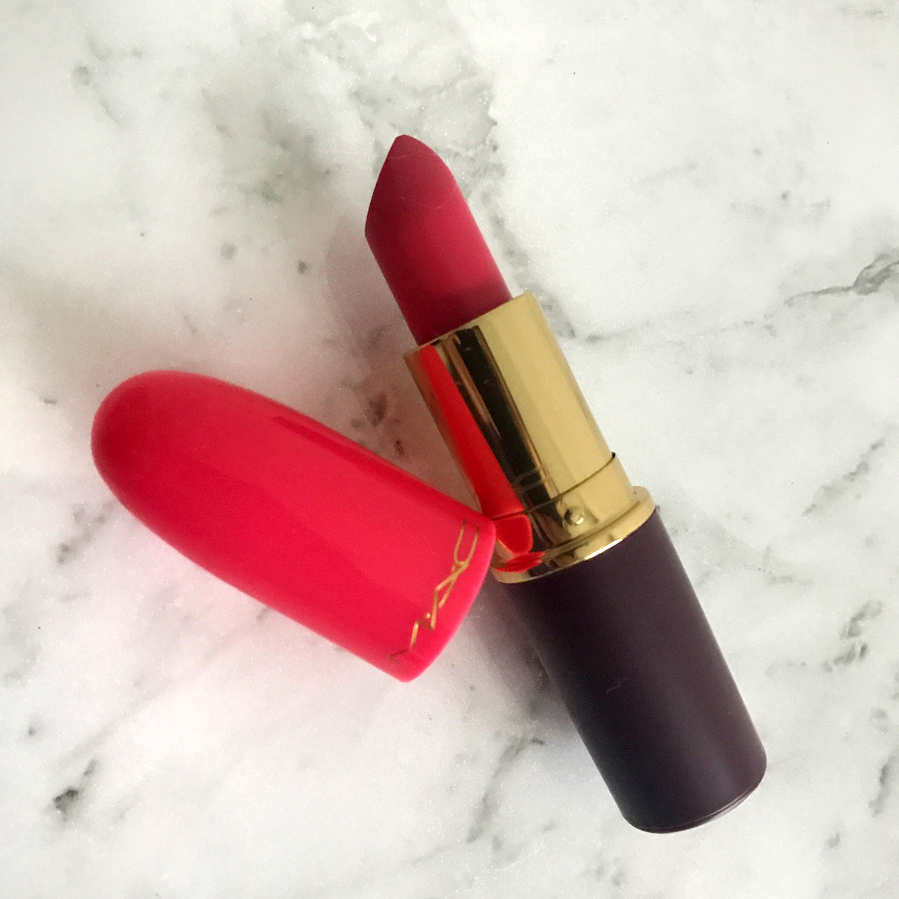 MAC Nutcracker Sweet Saucy Little Darling lipstick