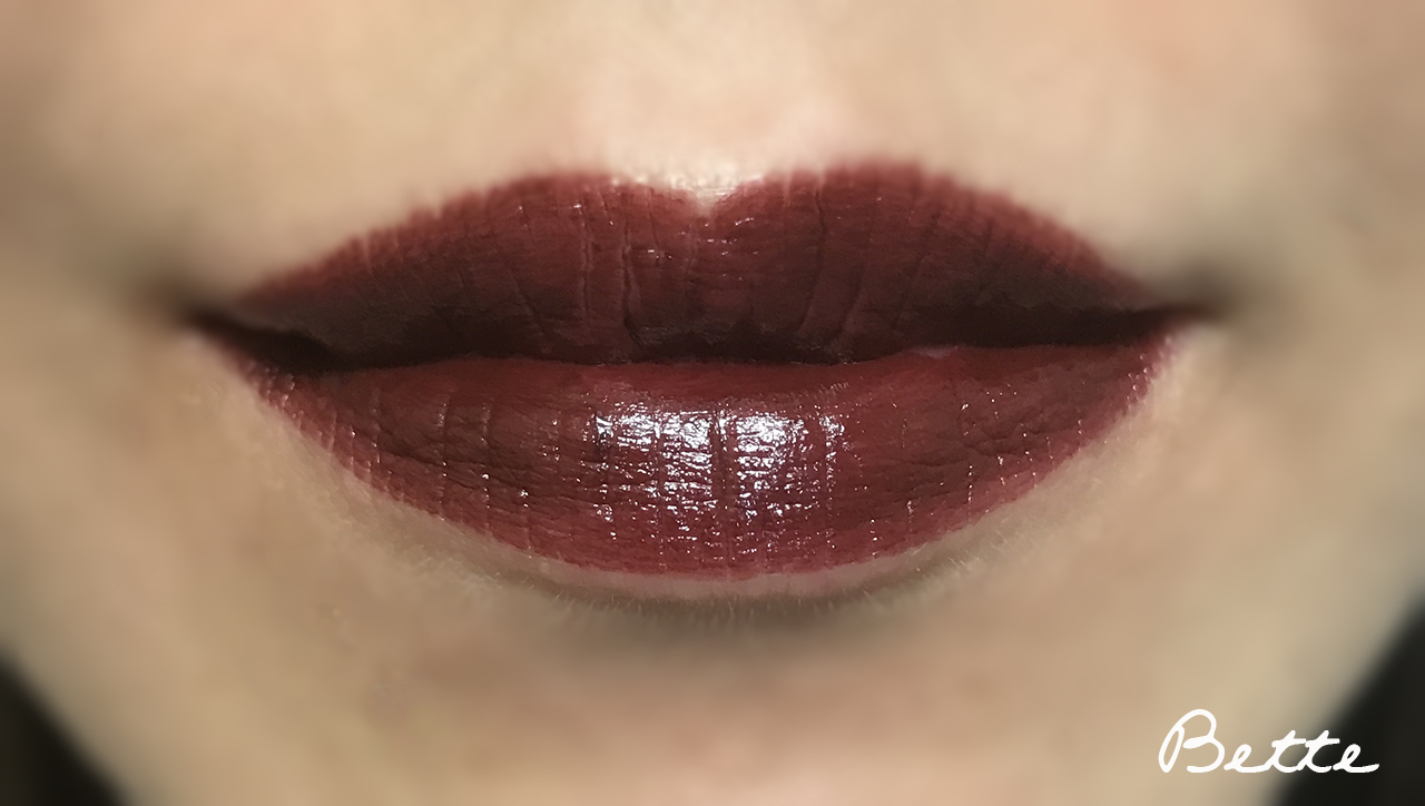 NARS Audacious Lipstick Bette lip swatch