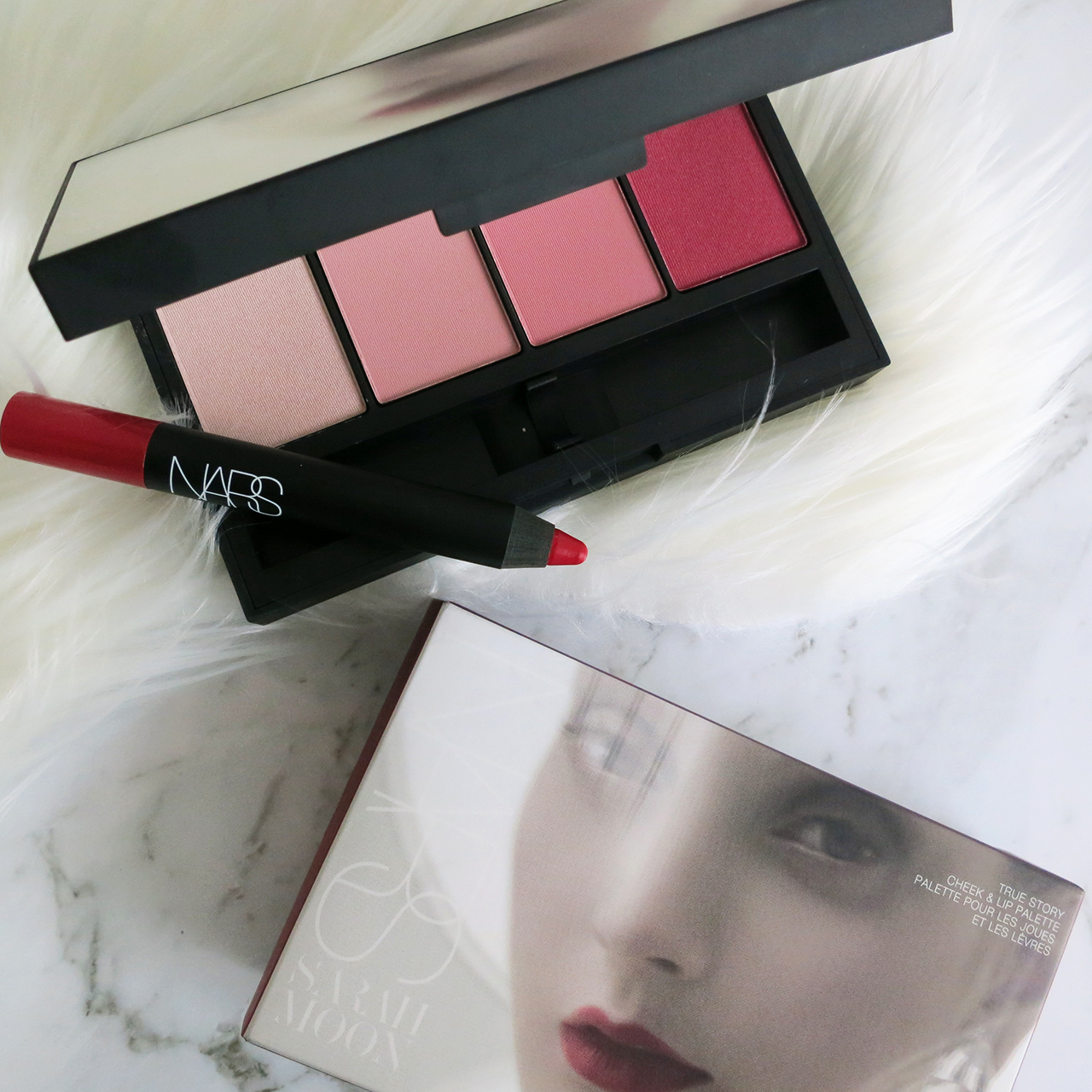NARS x Sarah Moon True Story Cheek & Lip Palette