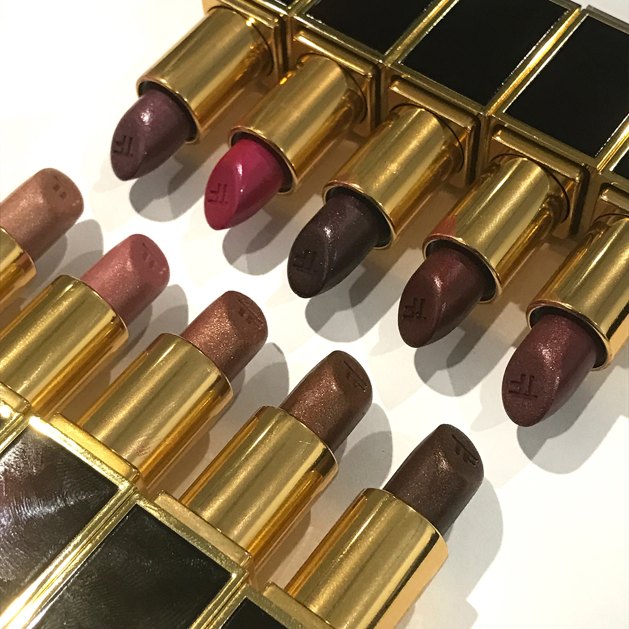 Tom Ford Lips & Boys 2016 - metallic